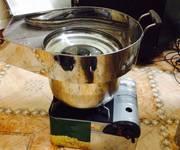 1 Bếp làm bắp rang bơ bằng ga giá rẻ