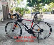 1 Xe đạp đua chevélo khung nhôm màu đỏ đen