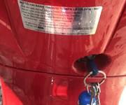2 Vespa màu đỏ phun xăng