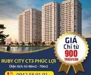 Cần bán Căn hộ chung cư Ruby City CT3 2PN Full nội thất 935Tr/căn, CK 50Triệu, miễn phí DV, phí gửi xe