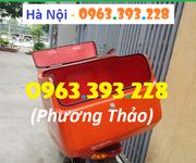 2 Thùng chở hàng cỡ lớn, Thùng ship đồ ăn nhanh cao cấp tại Hà Nội