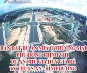 Bán đất dự án nhà ở thương mại Phú hồng Thịnh VIII- Dự án Phú gia Huy giá rẻ