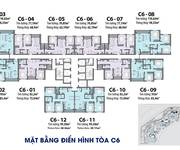 14 Cho thuê căn hộ 2PN 74m2 view hồ toà C6 DCapitale 19,9 tr/tháng