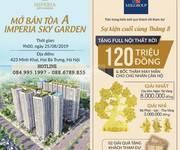 Căn suất ngoại giao cuối cùng tòa C, D Imperia Sky Garden, CK 5, LS 0/12 tháng. LH 0886.789.855