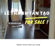 Căn hộ 33,9m2 chung cư Lê Thành Tân Tạo block D