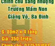 Sang nhượng trường mầm non Quận Ba Đình, khu vực Giảng Võ