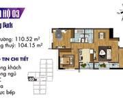 2 Bán căn 03 (3PN)  tòa S3 Goldmark, CK 500 triệu, chỉ đóng 50% nhận nhà