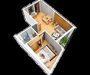 Cho thuê căn hộ mini đầy đủ nội thất đường 2/9-thuê dài hạn