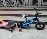 Hai Xe đạp trẻ em như mới