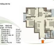CHÍNH CHỦ  Bán GẤP CHCC Green Park, Dương Đình Nghệ, 104m2, căn góc