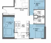 Cho thuê căn hộ CC FLC Garden city Đại Mỗ 3PN