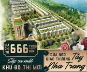 1 Tin Hot  Ra mắt đất nền biệt thự vườn phía tây Nha Trang khu đô thị mới Khánh Vĩnh Chỉ có 666Tr/Nèn