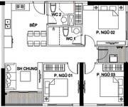 5 Vinhomes Smart City căn góc 3PN view công viên 10.2HA, HTLS 0%.