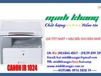 Cty Minh Khang chuyên sỉ và lẻ máy photocopy canon, bán máy photocopy CANON IR 1024  canon ir ...