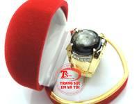 Nhẫn nam saphir sao hộ mệnh , nhẫn nam đẹp đá quý  TSVN006918