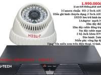 Khuyến mãi trọn gói 01 camera  01 đầu ghi J-Tech giá 1.990.000đ