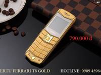 Nokia 6300 Gold chính hãng 550.000.Vertu Gold dùng 2 sim đẳng cấp và sang trọng 790.000