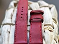 Nhận làm và bán sẵn dây đồng hồ handmade bằng da thật làm thủ công