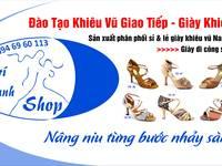 Giày khiêu vũ đẹp tại khiêu vũ trí thanh sản xuất và phân phối toàn quốc sỉ   lẻ...