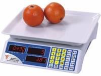 Cân điện tử tính tiền dành cho cửa hàng hoa quả, siêu thị mini siêu bền