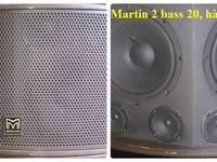 Âm thanh hàng bãi Anh chuyên nghiệp cho karaoke: Loa Spirit, loa Martin, vang số Audioking