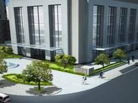 Bán sàn thương mại Vimeco mặt đường CD1 vuông góc với đường Phạm Hùng DT: 260 m2 lô góc