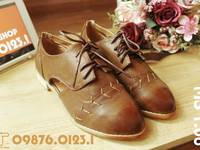 TomTom Shop - Bán giày sneaker thêu hoa, giày Oxford, sandal, giày bệt, giày thể thao, combat boots