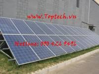 Hệ thống điện mặt trời cho gia đình bảo hành 5 năm