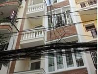Cho thuê nhà 209bis, đường Nguyễn Văn Cừ,p.Cầu Kho, Q1   DT 4 x 12m, nhà 1 trệt, 3...