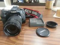 Body canon 50d   lens 18-135