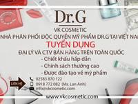 Tìm đại lý mỹ phẩm Dr.G