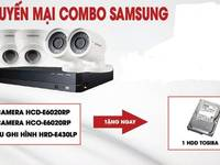 Tưng bừng combo Bộ camera HD Hikvision