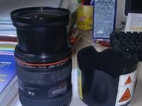 Bán Lens Canon huyền thoại EF 24-70 mm F/2.8 L USM: Giá 16 triệu Lens rất mới , ít chụp...