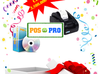 Phần mềm quản lý bán hàng POSPRO   Khuyến mãi mua 1 tặng 1