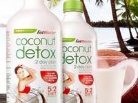 Coconut Detox giảm cân của Úc   Nước uống giảm mỡ, thải độc và thanh lọc cơ thể