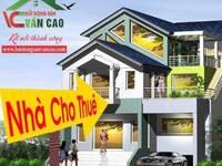 Cho thuê nhà tầng 1 mặt đường Văn Cao - Ngô Quyền - Hải Phòng