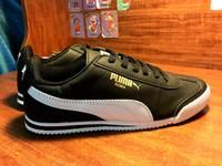 Giầy Puma Roma Sneaker Boots Đen và Trắng