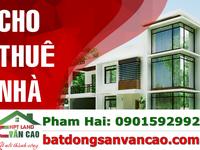 Cho thuê nhà 3 tầng Văn Cao 12tr/ tháng tiện nghi đầy đủ khách chỉ việc đến ở
