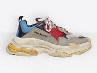 Balenciaga Vintage Triple S Trainers Fashion Sneakers Blue dành cho cả nam và nữ