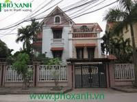 Cho thuê biệt thự 5 phòng ngủ full nội thất đường Máng Nước, An Đồng, An Dương Hải Phòng