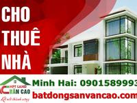Cho thuê nhà mặt đường Văn Cao