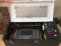 Máy laser 3020, máy laser khắc dấu, khắc dấu tên, dấu chức danh...chất lượng tại Hưng Yên