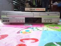 DVD liền băng VHS Panasonic, hàng xuất Mỹ, chạy tốt