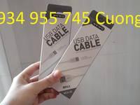 Cáp sạc giá rẻ an toàn ổn định chống đứt gãy cho IPHONE các dòng