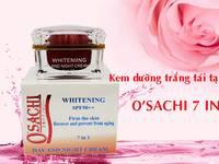 Kem dưỡng trắng và tái tạo da O sachi 7 in 1 phục hối và tái tạo da trăng hồng...