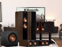 Bộ Loa 5.1 Klipsch RP-6000F,Âm thanh sống động,Xem phim cực hay