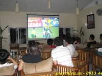 Máy chiếu bóng đá đê cả nhà ơi - HOT Asian Cup 2019