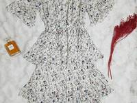 Đầm hoa, voan, chân váy tầng
