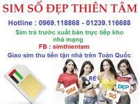 Sim Vina giá rẻ nhất Việt Nam - Phát sim thu tiền đến tận chân giường