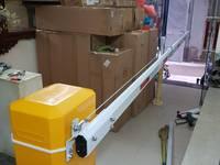 Cổng Barrier tự động BS-306TI cần gập cho hầm tòa nhà